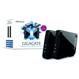 DEVOLO GIGAGATE STARTER KIT (9973), 1x BASE (WIFI 1733 MBPS, 4x4 MIMO/5GHZ) & SATELLITE (WIFI 1733 MBPS, 4x4 MIMO/ 5GHZ), 3YW.