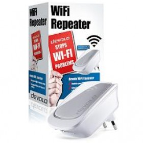 DEVOLO REPEATER WiFi, 300Mbps, 1xWiFi, 1x ETHERNET,3YW.