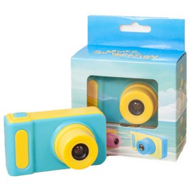 DIGITAL MINI CAMERA FOR KIDS WITH VISUAL EFFECTS BLUE 5903271602681