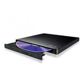 LG DVD R/RW GP57EB40, EXTERNAL, USB2.0, WRITE: 8x DVD R/ 6x DVD R DL/ 8x DVD R/RW, READ: 8x DVDROM, SLIM BLACK, RETAIL, 1YW.