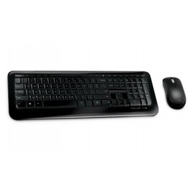 MS KIT KEYBOARD MOUSE DESKTOP 850 WITH AES, WIRELESS, USB, GR, 3YW (PY9-00022).