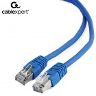 CABLEXPERT FTP CAT6 PATCH CORD BLUE 2M 8716309074094