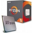 AMD CPU RYZEN 5 1400, 4C/8T, 3.2-3.4GHz, CACHE 2MB L2+8MB L3, SOCKET AM4, BOX, 3YW.