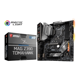 MSI MB Z390 TOMAHAWK, SOCKET INTEL LGA1151 8th/9th GEN, CS INTEL Z390, 4 DIMM SOCKETS DDR4, HDMI/DP, LAN GIGABIT INTEL I219-V/I211-AT,ATX, 3YW.
