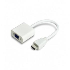 MrCable Αντάπτορας HDMI/VGA - HDMI A Αρσενικό/VGA HDB15 Θηλυκό επιχρυσωμένους ακροδέκτες Λευκό - AV582-HAVGAG