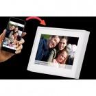 """Denver PFF-711MK2  WHITE -  Ψηφιακή κορνίζα 7"""" Smart Social Media WiFi FRAMEO photo frame"""