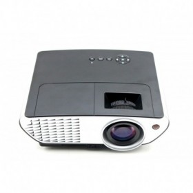 RD-803 Multimedia LED Projector with HDMI/Video/VGA   -  BLACK