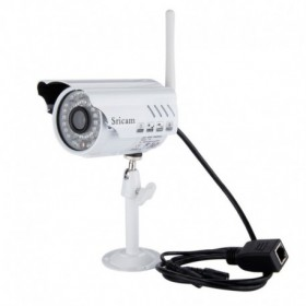 Sricam IP Camera SP014 - Ασύρματη εξωτερική κάμερα παρακολούθησης - WIFI - 720p HD - Πολλαπλοί χρήστες
