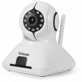 Sricam SP006WHCamera - IP Camera / Ενδοεπικοινωνία - H.264 - 720p - WIFI - Πολλαπλοί Χρήστες - Νυχτερινή όραση/λήψη - microSD