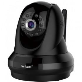Sricam SP018BL - IP Camera / Ενδοεπικοινωνία - 4 x ZOOM - 1080p - WIFI - Νυχτερινή λήψη - microSD - Δώρο καλώδιο LAN - ΜΑΥΡΗ