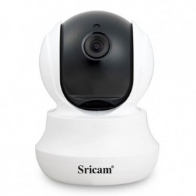 Sricam SP020 WH - Ανάλυση 720p - ONVIF - WIFI - Νυχτερινή όραση/λήψη 10pcs IR - LEDs - microSD + Δώρο καλώδιο LAN