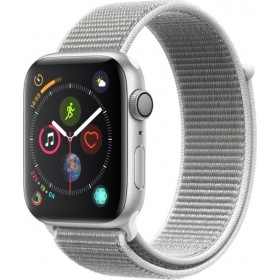 Apple Watch Series 4 GPS 44mm Silver Aluminium EU MU6C2TYA