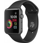 Apple Watch Series 2 Aluminium 42mm MP062 GREY PLASTIC BAND BLACK