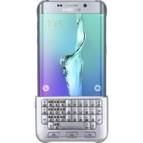 SAMSUNG Original Keyboard Cover (Θήκη Με Πληκτρολόγιο) For Galaxy S6 Edge Plus EJ-CG928 Silver