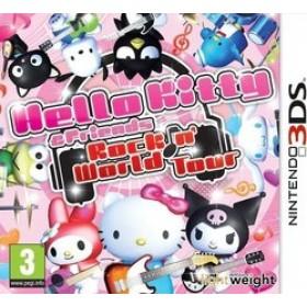 3DS HELLO KITTY  and  FRIENDS : ROCKIN WORLD TOUR (EU)