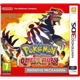 3DS POKEMON OMEGA RUBY (EU)
