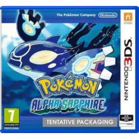 3DS POKEMON ALPHA SAPPHIRE (EU)
