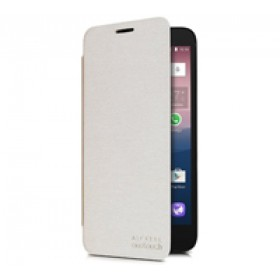 Alcatel FC5025 Flip Cover Pixi 3 (5,5) Soft Silver