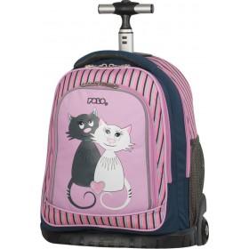 Τσάντα Polo Bike Pink Cats 9-01-218-16