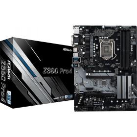 ATX  S1151 4DDR4 2PCIE16X 4PCIE HDMI/DSub/DVI/2XULTRA M.2/LA Z390PRO4-Asrock