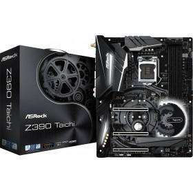 ATX S1151 4DDR4 3PCIE16X 2PCIE HDMI/DP/3XULTRA M.2/LAN Z390TAICHI-Asrock
