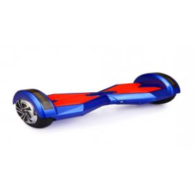 "Smart Balance Wheel 6,5"" Ηλεκτρικό Πατίνι Ισορροπίας Led Τσάντα Μεταφοράς Blue/Red"