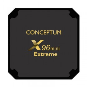 CONCEPTUM X96 mini Extreme ANDROID 7.1 - S905W Quad Core -2GB RAM - 16GB ROM - 4K
