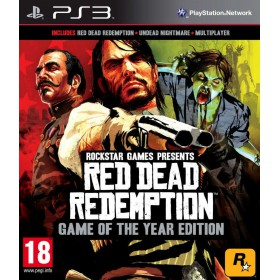PS3 RED DEAD REDEMPTION : GAME OF THE YEAR (EU) (ESSENTIALS )