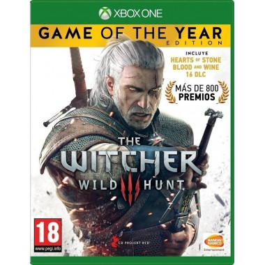 XBOX1 WITCHER 3: WILD HUNT - GAME OF THE YEAR (EU)