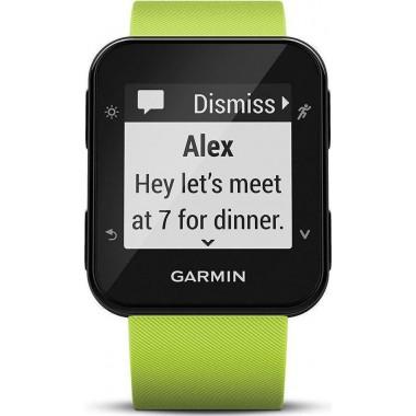 GARMIN GPS RUNNING WATCH FORERUNNER 35 Limelight GR-010-01689-11