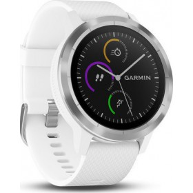 GARMIN SMARTWATCH  VIVOACTIVE 3 STEEL/WHITE 010-01769-22