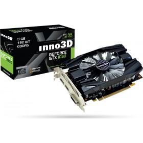 GTX1060, 3GB/D5, PCIE3x16, DVI-DP-HDMI2.0b, 2SL-FAN N1060/6DDN/L5GM-Inno3D