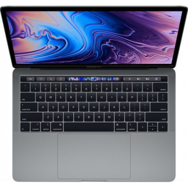 13-inch MacBook Pro with Touch Bar: 1.4GHz quad-core 8th-generation IntelCorei5 processor, 256GB - Space Grey (MUHP2ZE/A)