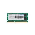 PS0886, PATRIOT soDDR3 004GB 1600MHz PC3-12800 2R/2S SD3/04/160/DD-Patriot