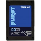 PE0541 BURST 120GB 2.5 SATA3 32MB 560/540 50K/40K MTBF=2mH SSD/BURST/120GB-Patriot