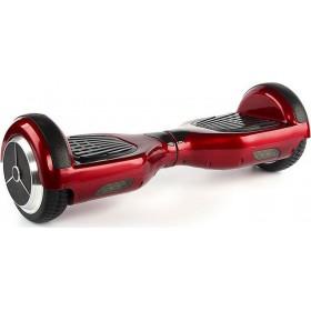 "Smart Balance Wheel 8"" Ηλεκτρικό Πατίνι Ισορροπίας Led Τσάντα Μεταφοράς Red/Black"