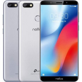 "TP-LINK Neffos C9 - Smartphone - Dual Sim 5.99"" 16GB - Ασημί (TP7061A54EU)"