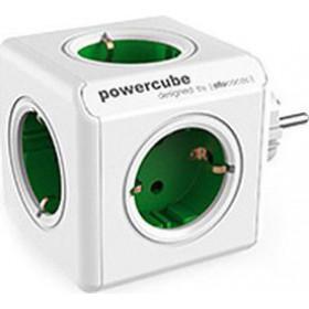 ALLOCACOC PowerCube Original - Πολύμπριζο - Πράσινο 1100GN/DEORPC