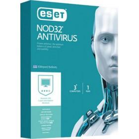 ESET NOD32 Antivirus - Προγράμματα antivirus - 1 έτος (3 άδειες)