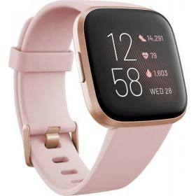 Fitbit Versa 2 Smartwatch - Ροζ / Ροζ Χρυσό FB507RGPK