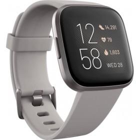 Fitbit Versa 2 Smartwatch - Γκρι FB507GYSR