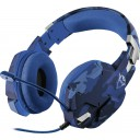 TRUST - GXT322B Carus Gaming Headset for PS4 - blue camo (23249)