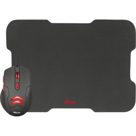 TRUST ZIVA - Gaming mouse & mousepad 21963