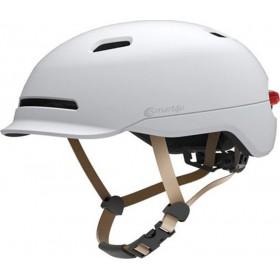 Smart4u City Riding Flash Helmet (White) L (11002)