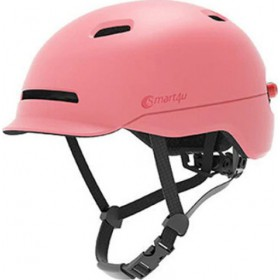 Smart4u City Riding Flash Helmet (Red) M (12007)