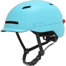Smart4u City Riding Flash Helmet (Blue) M (12008)