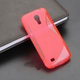 S-Line Silicon Case Red for Samsung S4 Mini - i9190