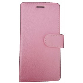 Book Case for Huawei P9 Lite-Pink