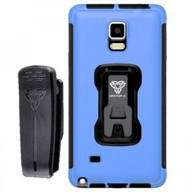 Armor-X Rugged Case with Belt Clip TX-SS-S6 for Samsung Galaxy S6 Blue