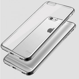 Ultra Slim 0.3mm Silicon Case for Iphone 6 Silver